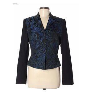 Elie Tahari Brocade Blazer Size 10